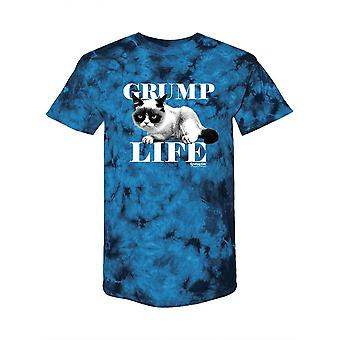 Grumpy Life, Grumpy Cat Tie-Dye Crystal -