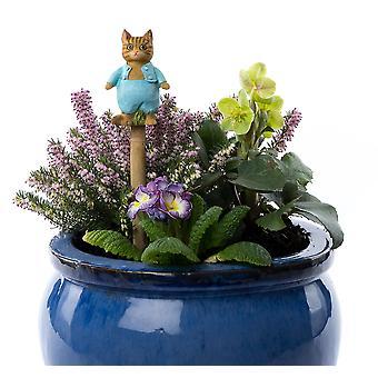 Cane Companions Beatrix Potter Tom Kitten Stake Topper Colorful Ornament