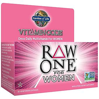 Vitamin Code RAW ONE for Women - 30 vcaps
