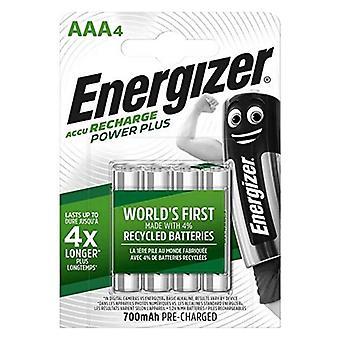 Ladattavat akut Energizer AAA-HR03 AAA HR03 700 mAh Musta