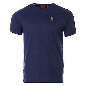 Luke 1977 Tape Shoulder T-Shirt - Navy