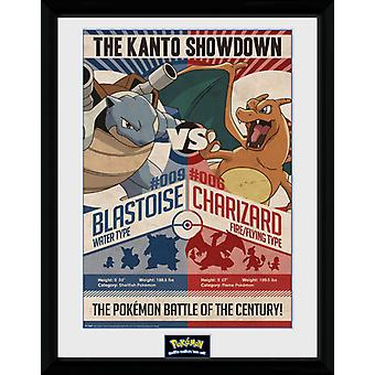 Pokemon Red V Blue Collector Print