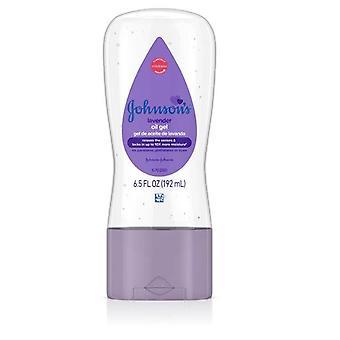 Johnson's Baby Oil Gel, Lavender, 6.5 fl oz