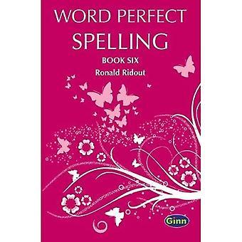 Word Perfect Spelling Book 6 (International) - Word Perfect Spelling International New Edition (Paperback)