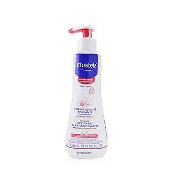 Mustela ingen skölj lugnande rensning vatten (Face & blöja Area)-för mycket känslig hud 300ml/10.14 oz