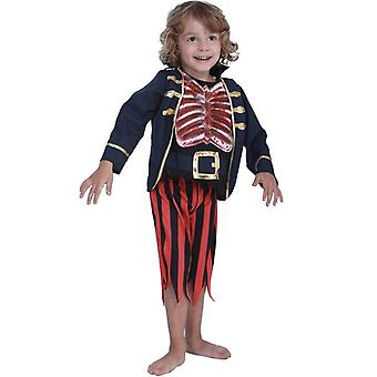 Children's Cosplay Costume Skull Bloodstained Pirate Boy Halloween Costume|Boys Costumes