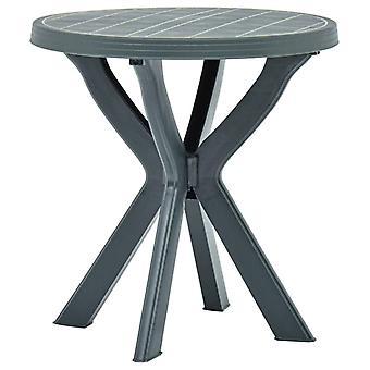 Chunhelife Bistro Table Vert 70 Cm Plastique