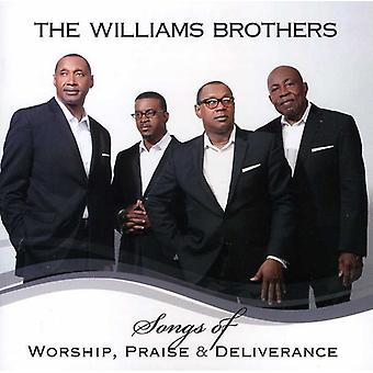 Williams Brothers - Songs of Worship Praise & Deliverance [CD] USA import