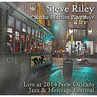 Steve Riley & the Mamou Playboys - Live at Jazz Fest 2014 [CD] USA import