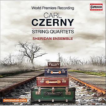 Czerny / Sheridan Ensemble - String Quartets [CD] USA import