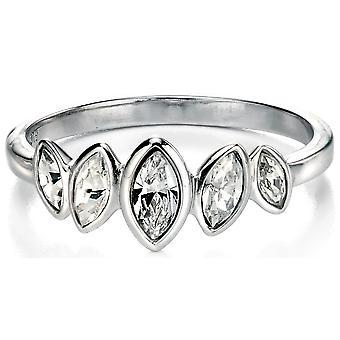 925 серебряные кольца циркония Принцесса