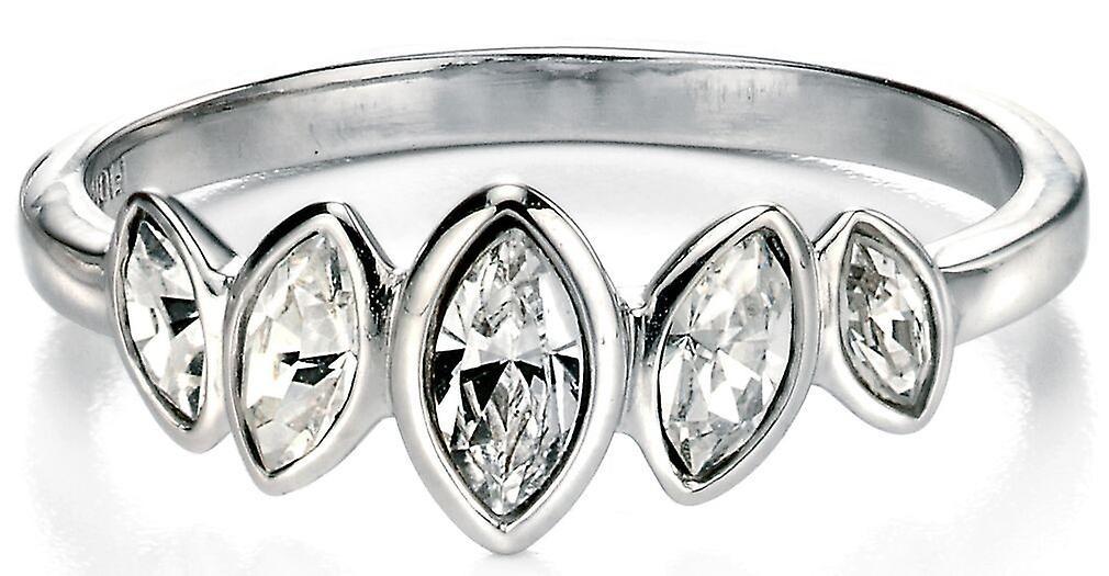 925 Silver Zirconium Ring Princess