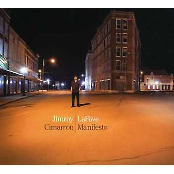 Jimmy Lafave - Cimarron Manifesto [CD] USA import