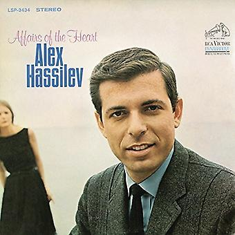 Alex Hassilev - Affairs of the Heart [CD] USA import