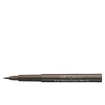 Color de las cejas los ojos ArtDeco pluma marrón medio #6 1,1 Ml para las mujeres