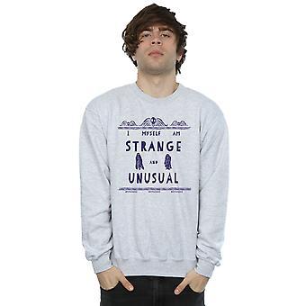 Beetlejuice Men's Strange And Unusual Sweatshirt