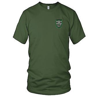 US Army - 10th Special Forces Group Flash brodé Patch - avec Crest Mens T Shirt