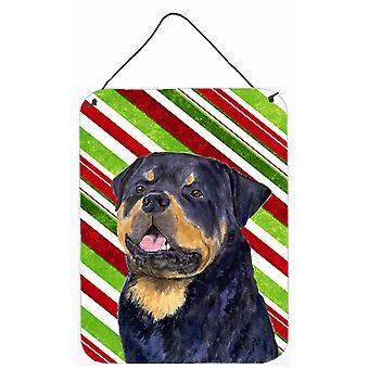 Rottweiler tikkukaramelli Holiday joulua läpäisemätön roikkuu tulostaa