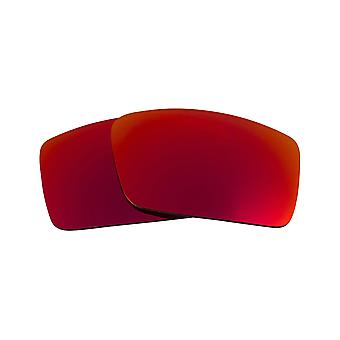 SeekOptics Replacement Lenses for Oakley Gascan S (Small) Non-Polarized Red Mirror