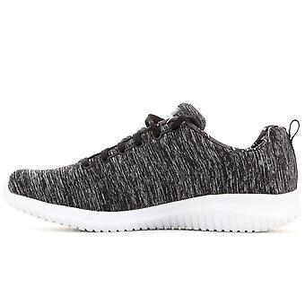 Skechers Ultra Flex First Choice 12834BKW uniwersalne przez cały rok buty damskie