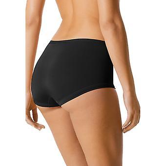 Mey 89205-3 Women's Black Solid Colour Knicker Shorties Boyshort