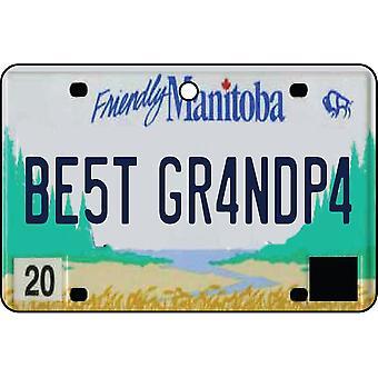 MANITOBA - beste opa License Plate auto luchtverfrisser