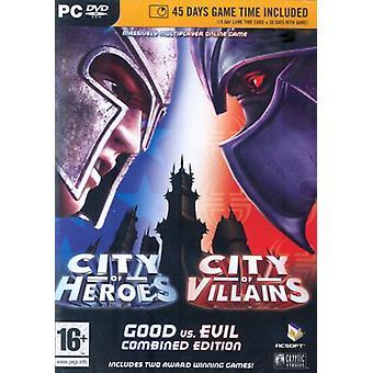 City of HeroesVillains Combined Edition 15 päivän aikakortti (pk) - Uusi
