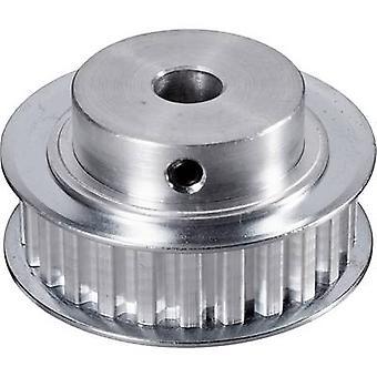 Aluminium gezahnten Riemen Reely trug Scheibendurchmesser: 8 mm Durchmesser: 45 mm Nr. Zähnezahl: 25