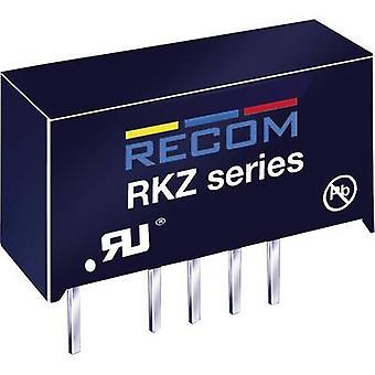 RECOM RKZ-0505D DC/DC-muunnin (tulostus) 5 V DC 5 V DC,-5 V DC 200 mA 2 W ei. Lähdöt: 2 x