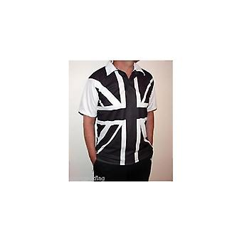Union Jack bära svart & vit Union Jack Polo Shirt
