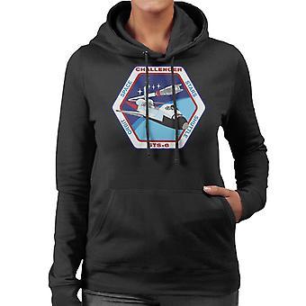 NASA STS 6 Space Shuttle Challenger Mission Patch Frauen das Sweatshirt mit Kapuze