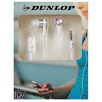 Dunlop In-ear sport oordopjes wit