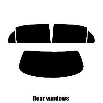 Pre cut window tint - Jaguar XJ 4-Door Saloon - 2003 to 2008 - Rear windows
