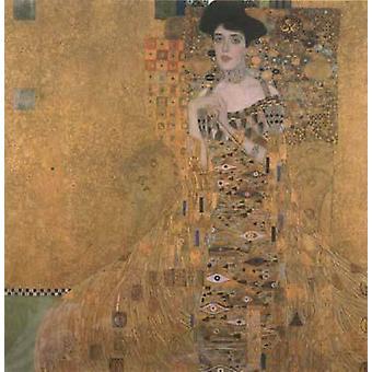 Portrait d'Adèle Bloch-Bauer I, Gustav KLIMT, 50x50cm