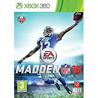 Madden NFL 16 (Xbox 360)-fabriks forseglet