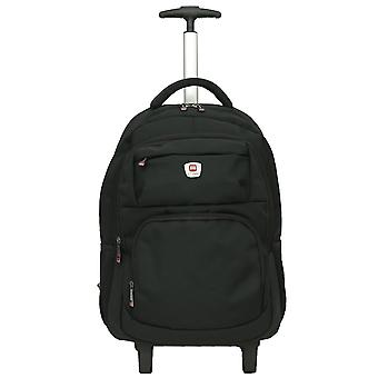 """City Bag Hybrid Backpack On Wheels Laptop Trolley Wheeled Rolling 15.6"""" Computer Bag Hand Luggage"""