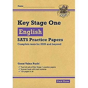 Uusi KS1 Englanti SATS käytännössä paperit: Pack 3 (testit vuonna 2019)