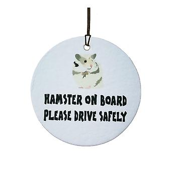 Hamster On Board Car Air Freshener