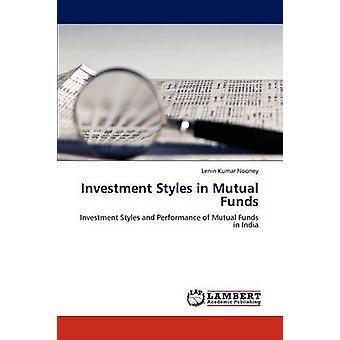 Stili di investimento in fondi comuni di investimento di giancanio & Lenin Kumar
