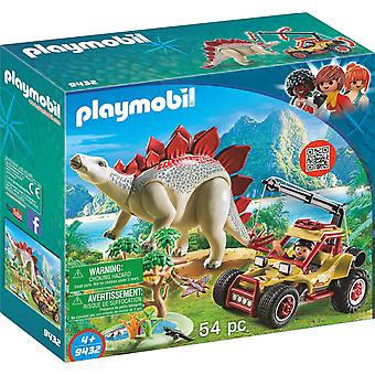 Playmobil 9434 Quad med Triceratops leksak Set