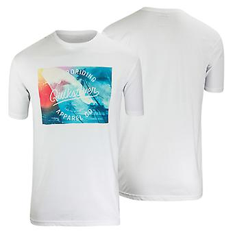 Quiksilver Mens Palm Wave T-Shirt - White