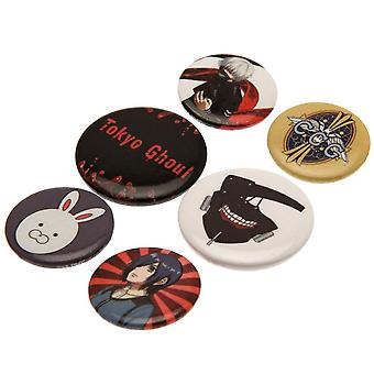 Tokyo Ghoul Button Badge Set