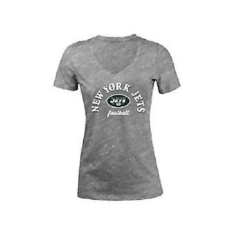 New York Jets NFL Women's Checkdown T-Shirt