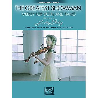 THE GREATEST SHOWMAN MEDLEY (STIRLING LINDSEY) VIOLIN/PIANO BOOK by T