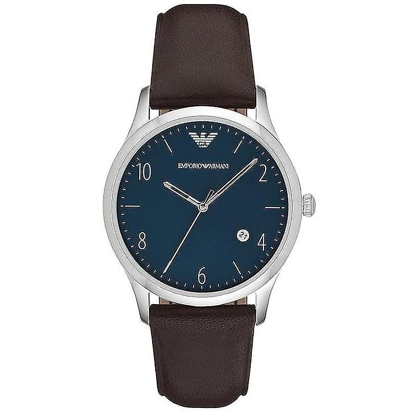 Emporio Armani Ar1944 Blue Dial Men's Quartz Watch