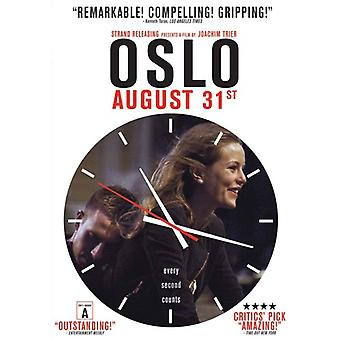 Oslo August 31st [DVD] USA import