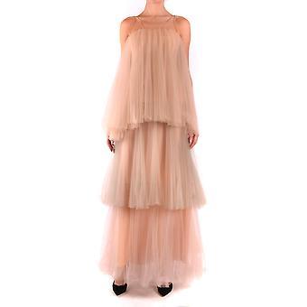 Greta Boldini Ezbc314001 Women's Pink Silk Dress