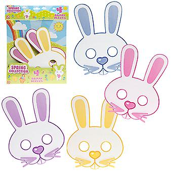 Easter Themed Spring Collection 4 Bunny Masks