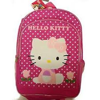 Backpack - Hello Kitty - Flowers Pink 16
