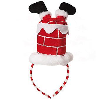 Pandebånd jul Santa Claus skorsten